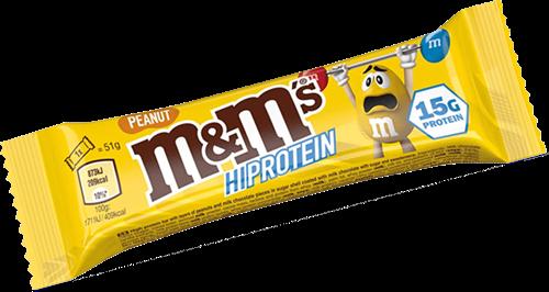 M&M's HiProtein Peanut Bar (1 x 51 gr)