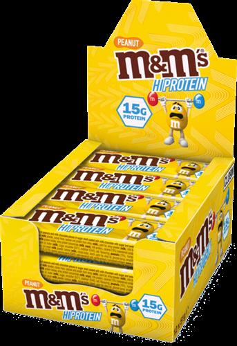 M&M's HiProtein Peanut Bar (12 x 51 gr)