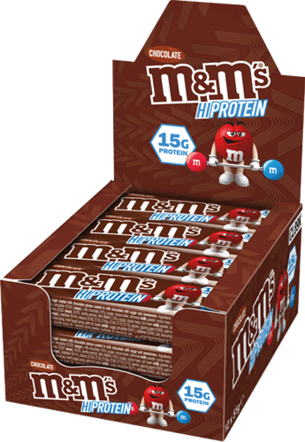 M&M's HiProtein Chocolate Bar (12 x 51 gr)