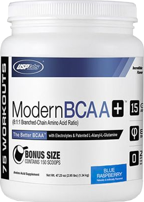 Modern BCAA+ Bonus Size Blue Raspberry (1340 gr)