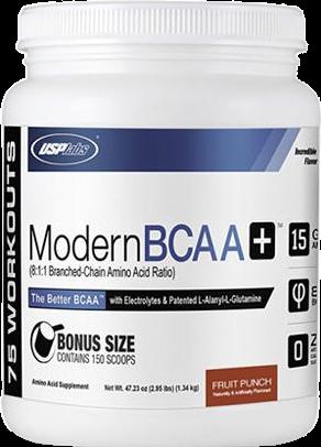 Modern BCAA+ Bonus Size Fruit Punch (1340 gr)