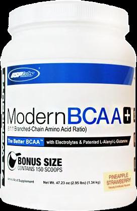 Modern BCAA+ Bonus Size Pineapple Strawberry (1340 gr)