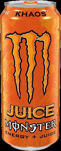 Monster Energy Khaos Orange (1 x 473 ml)