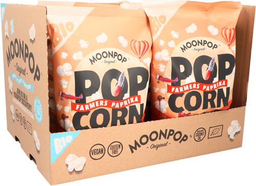 Moonpop Popcorn Paprika (10 x 75 gr)