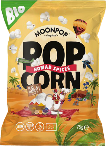 Moonpop Popcorn Nomad Spices (10 x 75 gr)