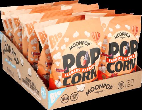 Moonpop Popcorn Paprika (16 x 30 gr)