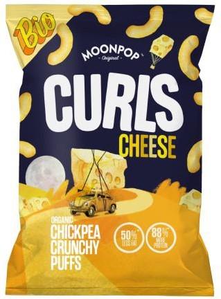 Moonpop Curls Cheese (12 x 85 gr)