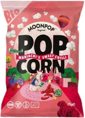 Moonpop Popcorn Sweet Chilli (10 x 75 gr)