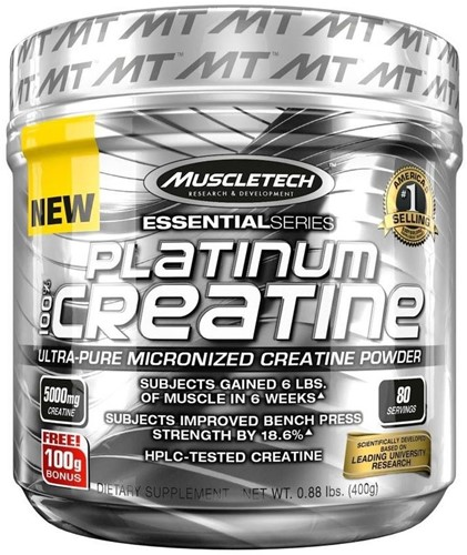 Platinum 100% Creatine (400 gr)