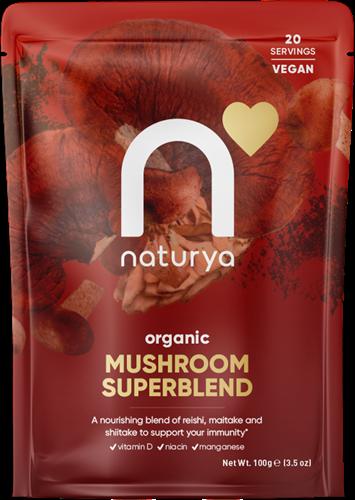 Naturya Organic Mushroom SuperBlend (100 gr)