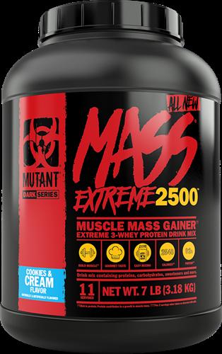 Mutant Mass Extreme 2500 Cookies & Cream (3178 gr)
