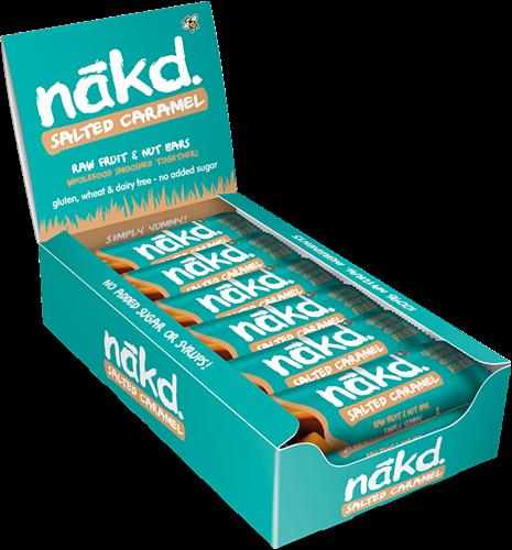 Nakd Bars Salted Caramel (18 x 35 gr)