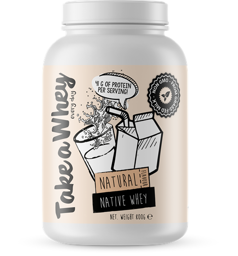 Take-a-whey Native Whey Natural (800 gr)
