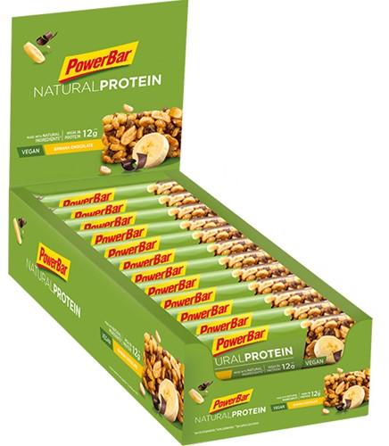 Natural Protein Bar Banana Chocolate (24 x 40 gr)