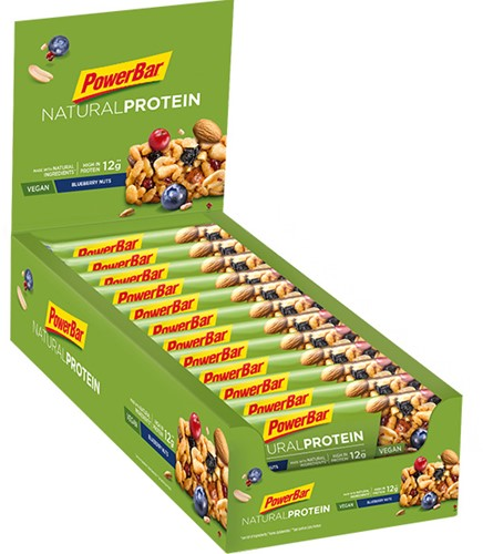 Natural Protein Bar Blueberry Nuts (24 x 40 gr)