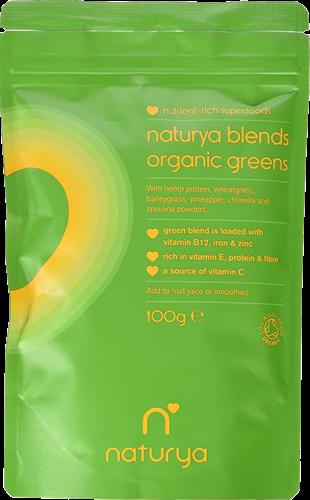 Naturya Organic Greens Blend (100 gr)