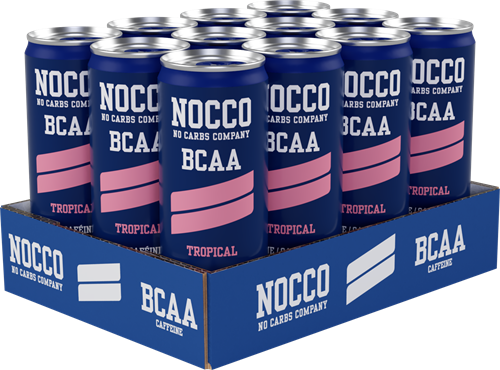 Nocco BCAA Tropical (12 x 330 ml) Ten minste houdbaar tot: 5-2021