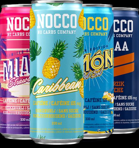 Nocco BCAA Mix Tray (4 x 330 ml)