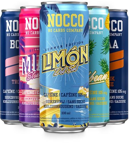 Nocco BCAA Mix Tray (5 x 330 ml)