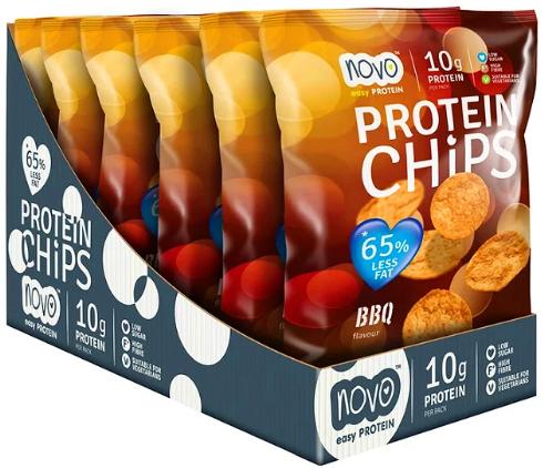 Protein Chips BBQ Flavour (6 x 30 gr)