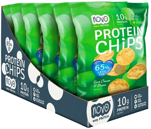 Protein Chips Sour Cream & Onion (6 x 30 gr)
