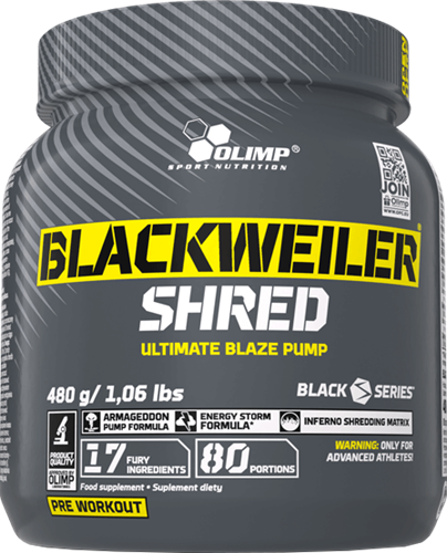 Olimp Blackweiler Shred (480 gr)