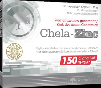 Olimp Chela-Zinc Caps (30 caps)