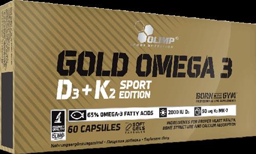 Olimp Gold Omega-3 D3+K2 Sport Edition (60 caps)