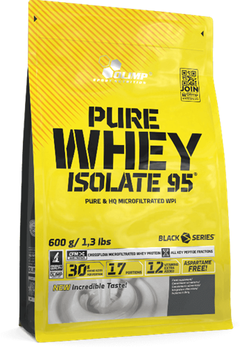 Olimp Pure Whey Isolate 95 Strawberry Power (600 gr)