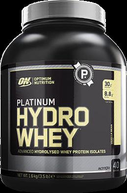 Platinum Hydrowhey Vanilla Bean (1600 gr)