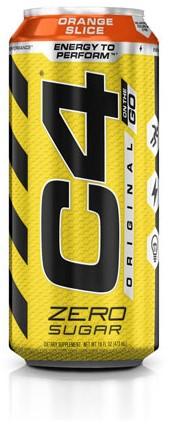 C4 Carbonated Orange Slice (1 x 473 ml) Ten minste houdbaar tot: 12-2020