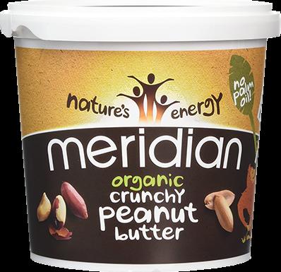 Meridian Organic Peanut Butter Crunchy (1000 gr)