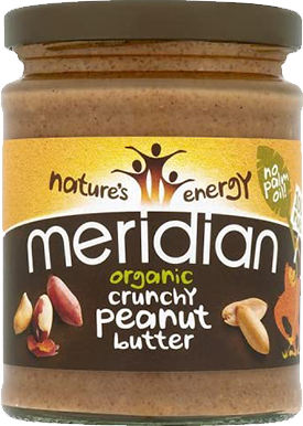Meridian Organic Peanut Butter Crunchy (280 gr)