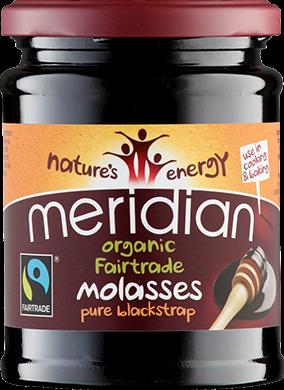 Meridian Organic & Fairtrade Blackstrap Molasses (350 gr)