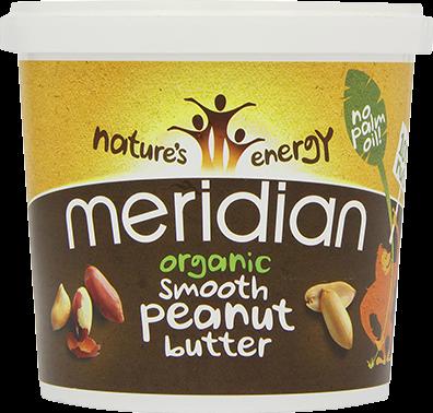 Meridian Organic Peanut Butter Smooth (1000 gr)