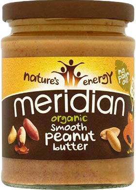 Meridian Organic Peanut Butter Smooth (280 gr)
