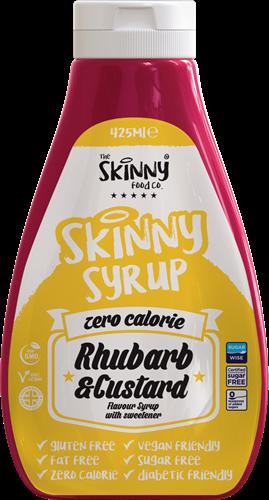 Skinny Syrup Rhubarb & Custard (425 ml)