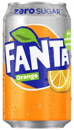 Fanta Zero Original (24 x 330 ml)