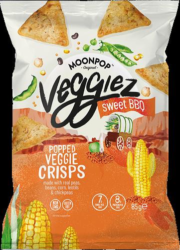 Moonpop Veggiez Sweet BBQ (85 gr)