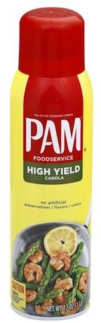 PAM Cooking Spray High Yield Canola (481 gr)