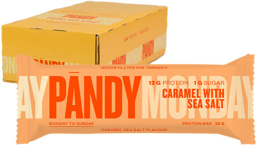 Pandy Protein Bar Caramel Seasalt (18 x 35 gr)