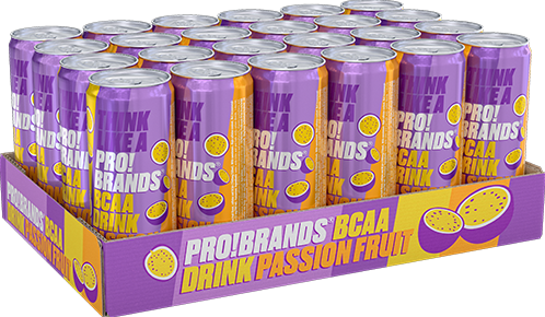 AminoPro Drink Passion Fruit (24 x 330 ml)