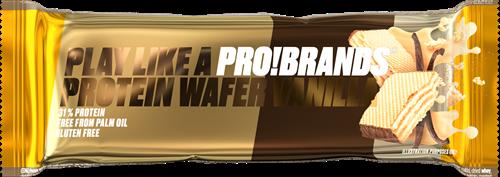 Protein Pro High Protein Wafer Vanilla (16 x 40 gr) Ten minste houbaar tot: 1-2021
