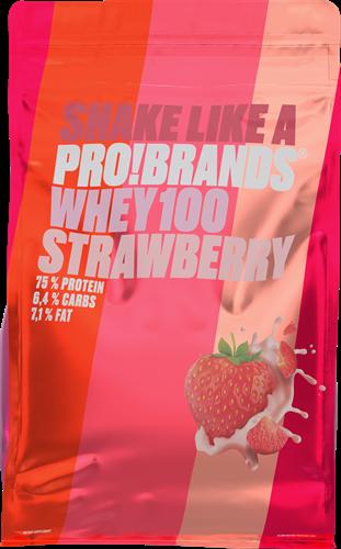 Protein Pro 100% Whey Protein Strawberry (900 gr)