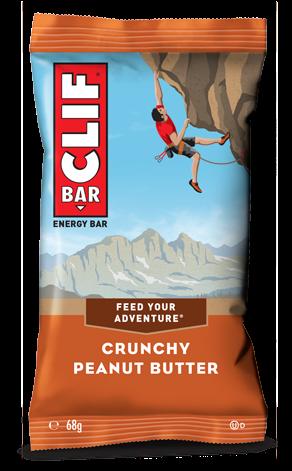 Clif Bar Crunchy Peanut Butter (12 x 68 gr)