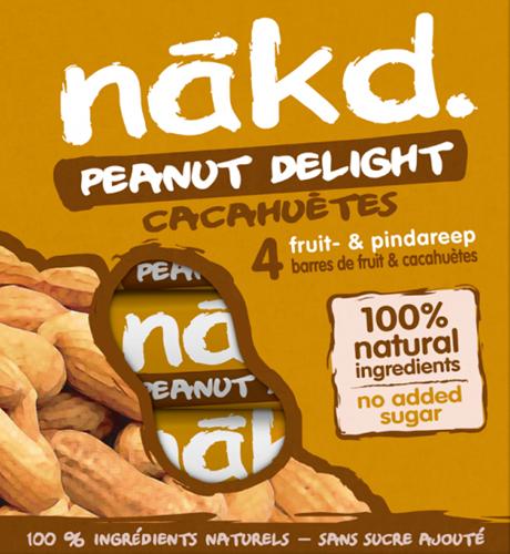 Nakd Bars Peanut Delight (4 x 35 gr)