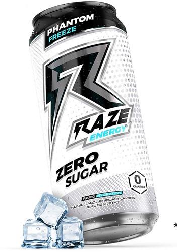 Raze Energy Drink Phantom Freeze (12 x 473 ml)