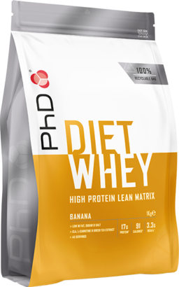 PhD Diet Whey Banana (1000 gr)