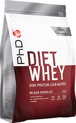 PhD Diet Whey Belgian Chocolate (1000 gr)