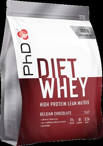 PhD Diet Whey Belgian Chocolate (2000 gr)